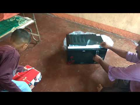 IFB 30FRC2  rotisserie microwave unboxing