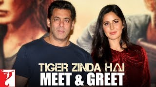 Meet & Greet with Salman Khan and Katrina Kaif | Tiger Zinda Hai