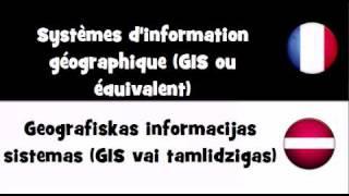 traduction en 20 langues systmes d information gographique gis ou quivalent