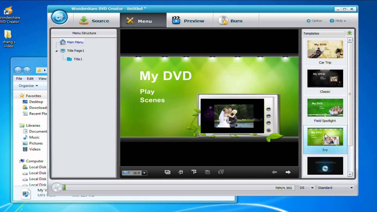 How to Convert MP4 to a DVD Player - YouTube