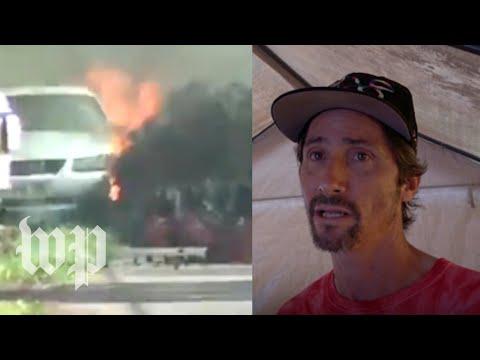 His neighborhood was wrecked by fiery lava. He says Hawaii is 'still beautiful.'