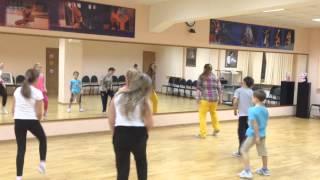 Он-лайн урок в LET'S DANCE CLUB.Дети. Хип-Хоп.Связка №2.