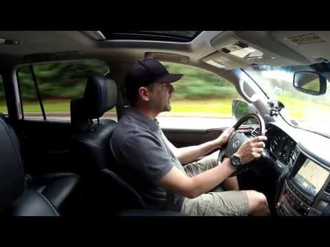 Driving Review - 2013 Lexus LX 570 - 8 Passenger SUV Test Drive - Video Review - In Depth
