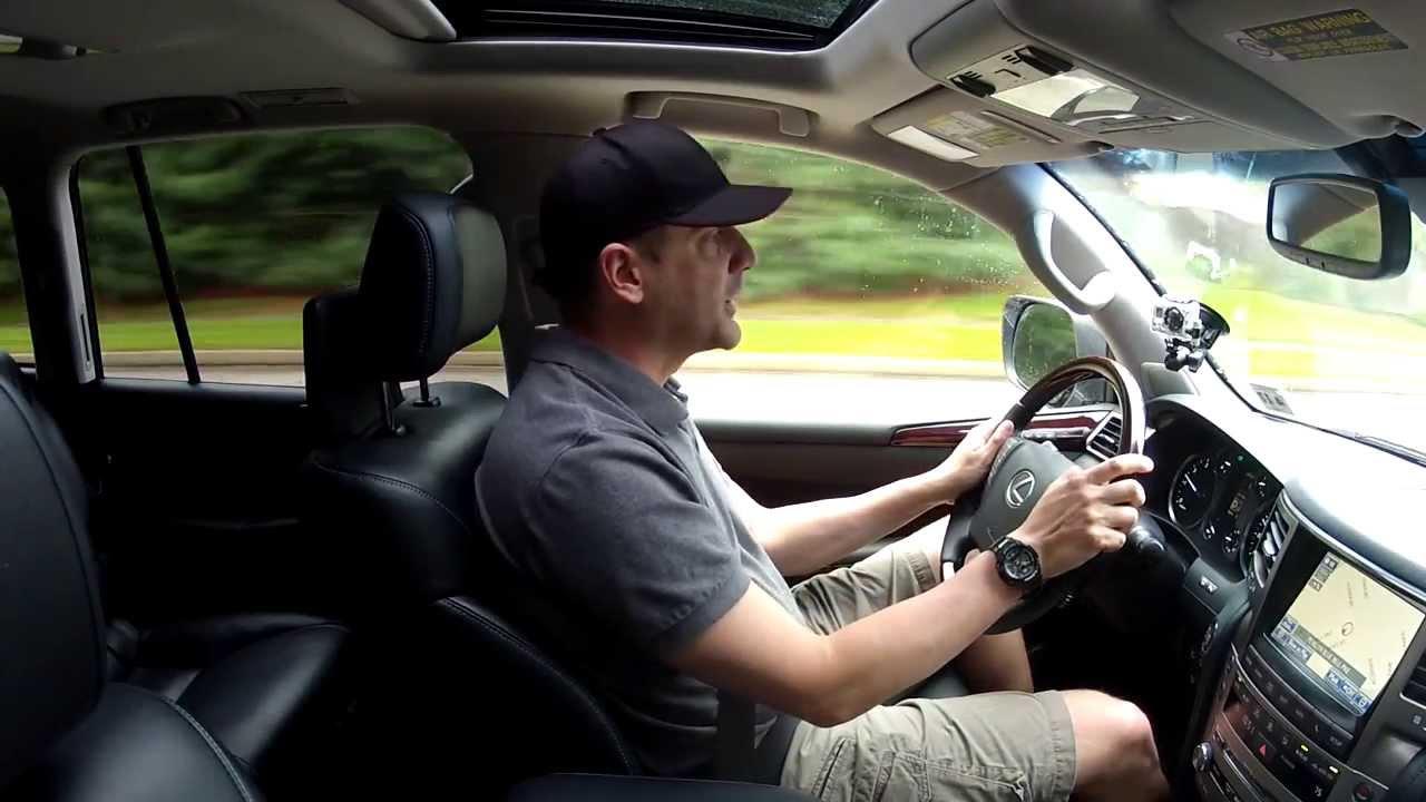 Lexus 2013 lexus lx : Driving Review - 2013 Lexus LX 570 - 8 Passenger SUV Test Drive ...