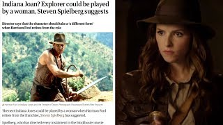 The theory behind why this is happening (Indiana Jones is going to be a woman?)