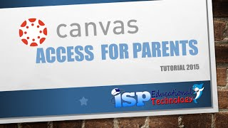 Canvas Access for Parents (ENG)