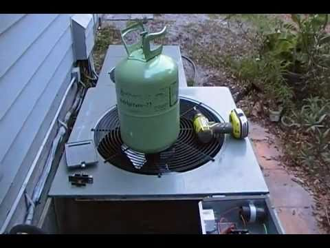 Air Conditioning clean and check sevice HVAC Part 1