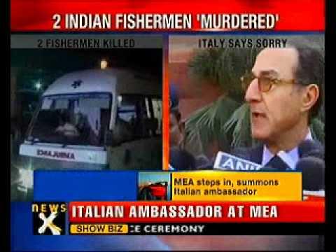 Italian ship shoots 2 Indian fishermen; Italy apologizes- NewsX