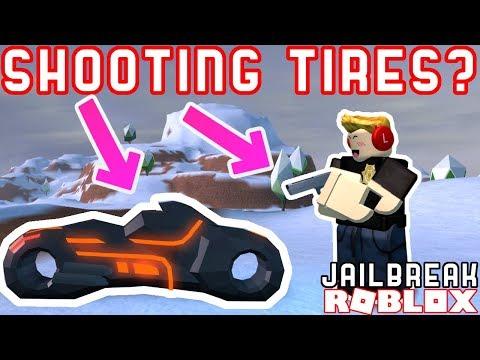 SHOOTING VOLT BIKE TIRES! *GONE WRONG*!