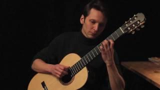 Johann Sebastian Bach: 3. Sarabande (BWV 1004); classical guitar: Klaus Paul / 436 Hz