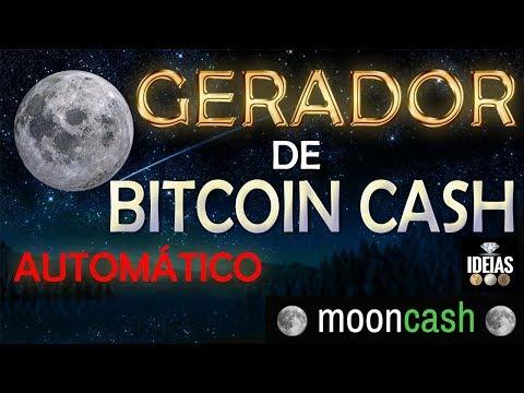 Moon Cash - Faucet De Bitcoin Cash BCH