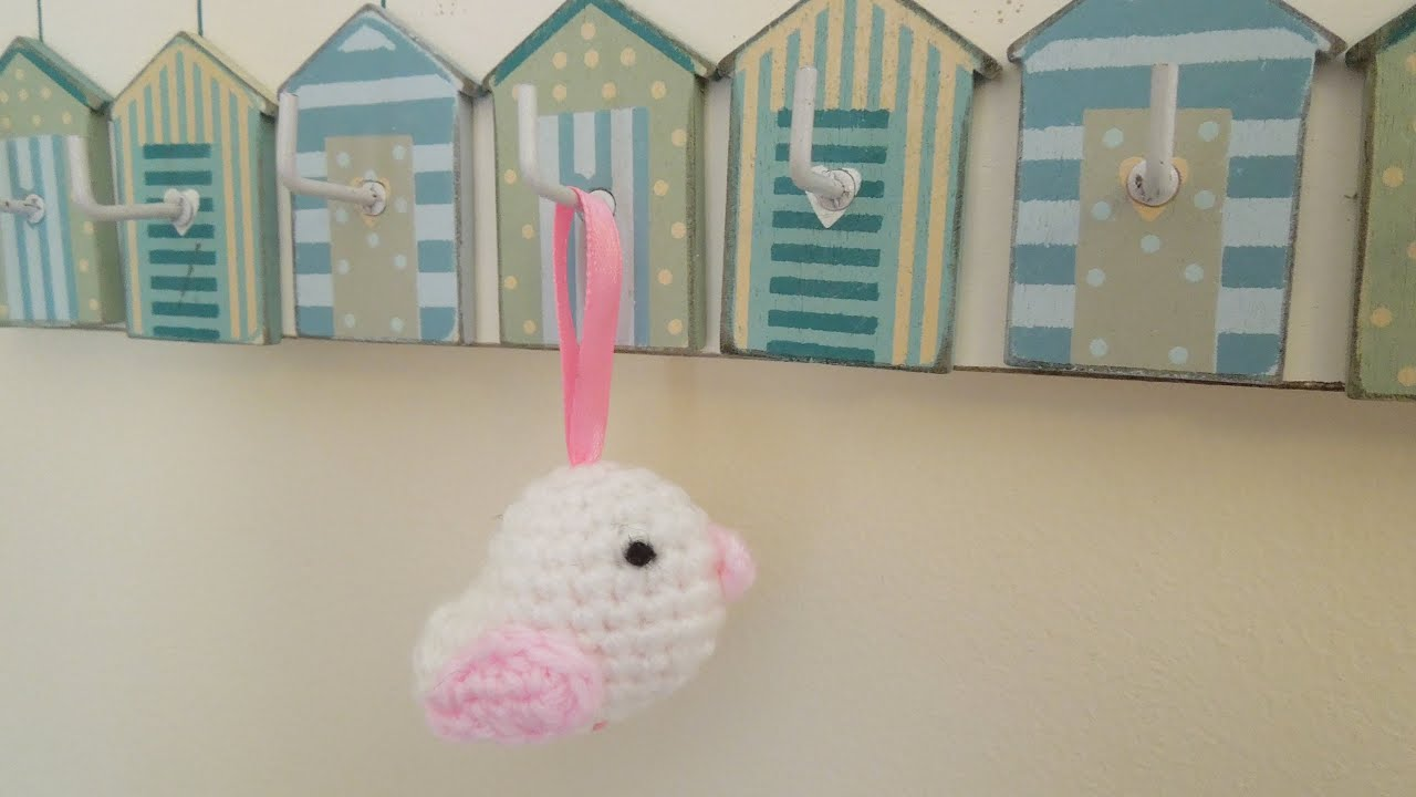 Amigurumi Bird Tutorial : Crochet how to crochet bird hanging ornament youtube
