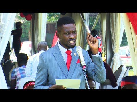 Bobi Wine's bitter Speech after Nomination that got him arrested - Full HD Version