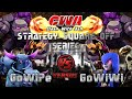 Clash Of Clans | Th9 3 Star GoWiPe vs. GoWiWi with Earthquake & Low Level Heroes