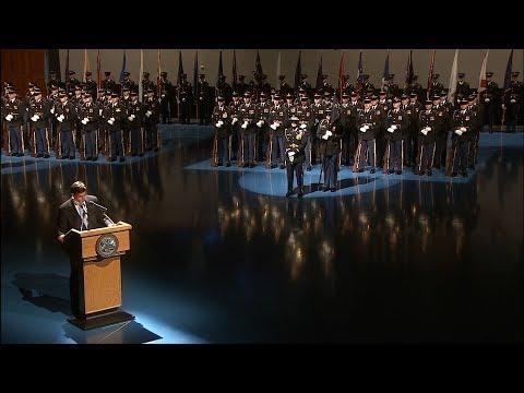 Secretary of the Army Arrival Ceremony