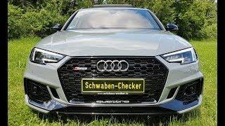 Audi RS4 Avant (B9) 450PS Review. Rundumtest, Fahrbericht, Eindrücke, Kompletttest, Sound-Check