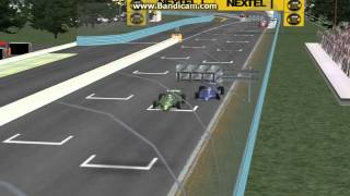rFactor - Battle with Jean Pierre Jarier ends in Crash