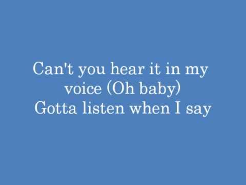 Westlife - Don't Let Me Go with lyrics