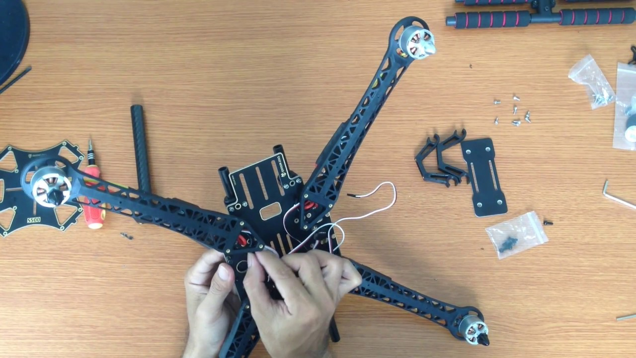 Building Your Own Quadcopter S500 Frame Apm 28 Youtube Wiring Guide