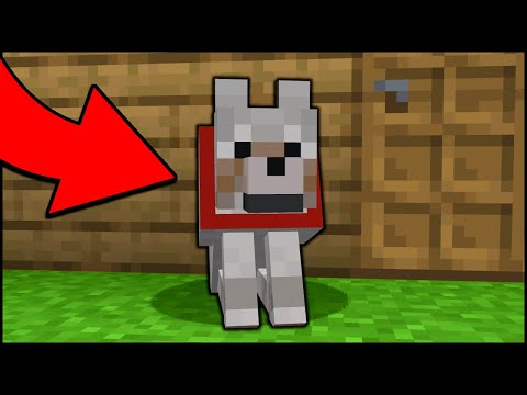 Minecraft: How to make a working Guard Dog! [easy]