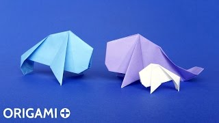 Origami Manatee