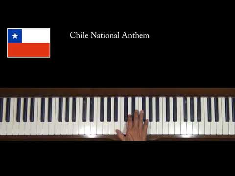 Chile National Anthem Piano Tutorial