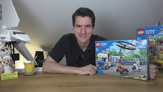 Wir bauen das schlechteste 45€-Set: LEGO® City 60244 - Polizeihubschrauber-Transport