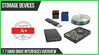 Storage Devices - 7.7 Hard Drive Interfaces Overview