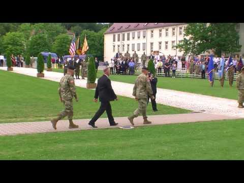 US Army Garrison Stuttgart Change of Command