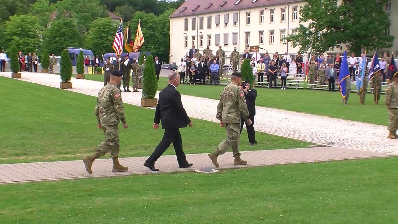 US Army Garrison Stuttgart Change Of Command YouTube - Us army garrison stuttgart map