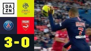 Kylian Mbappe: Unfair mit der Hand, dann eiskalt: Paris Saint-Germain - Nimes 3:0 | Ligue 1 | DAZN