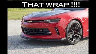 Wrapping the Hood!! 2016-17 Camaro