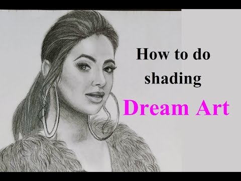 steps to draw portarit | sunanda sharma | Dream Art
