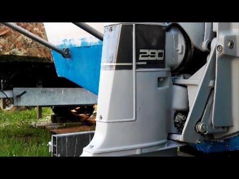 volvo penta 290a sterndrive installation youtube rh youtube com