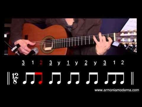 Los compases de flamenco - Transcripción de los distintos palos.