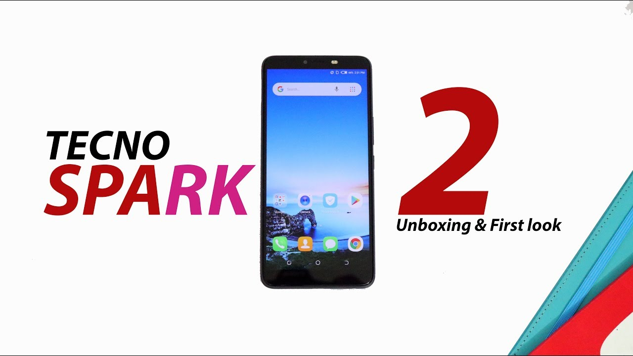 Tecno Spark 2 Unboxing and First Look