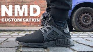 NMD XR1 TRIPLE BLACK CUSTOMISATION