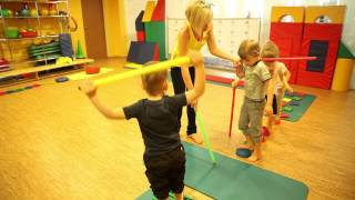 Чегодаева Лидия урок для детей 4-6 лет,профилактика плоскостопия