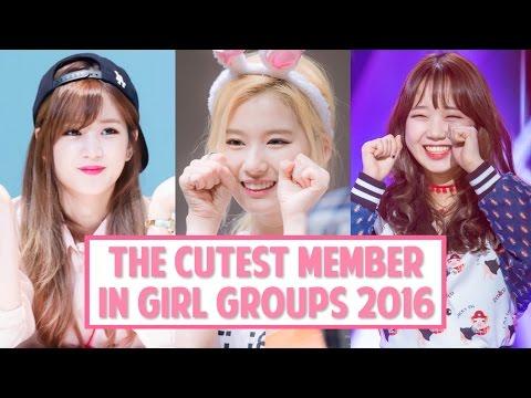 [TOP 10] The Cutest Member in K-Pop Girl Groups 2016