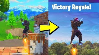 How To Rocket Ride YOURSELF In Fortnite! (100% Working!)