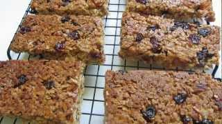Yummy Chewy Granola Bars Loaded With Fruit ~ Gluten Free