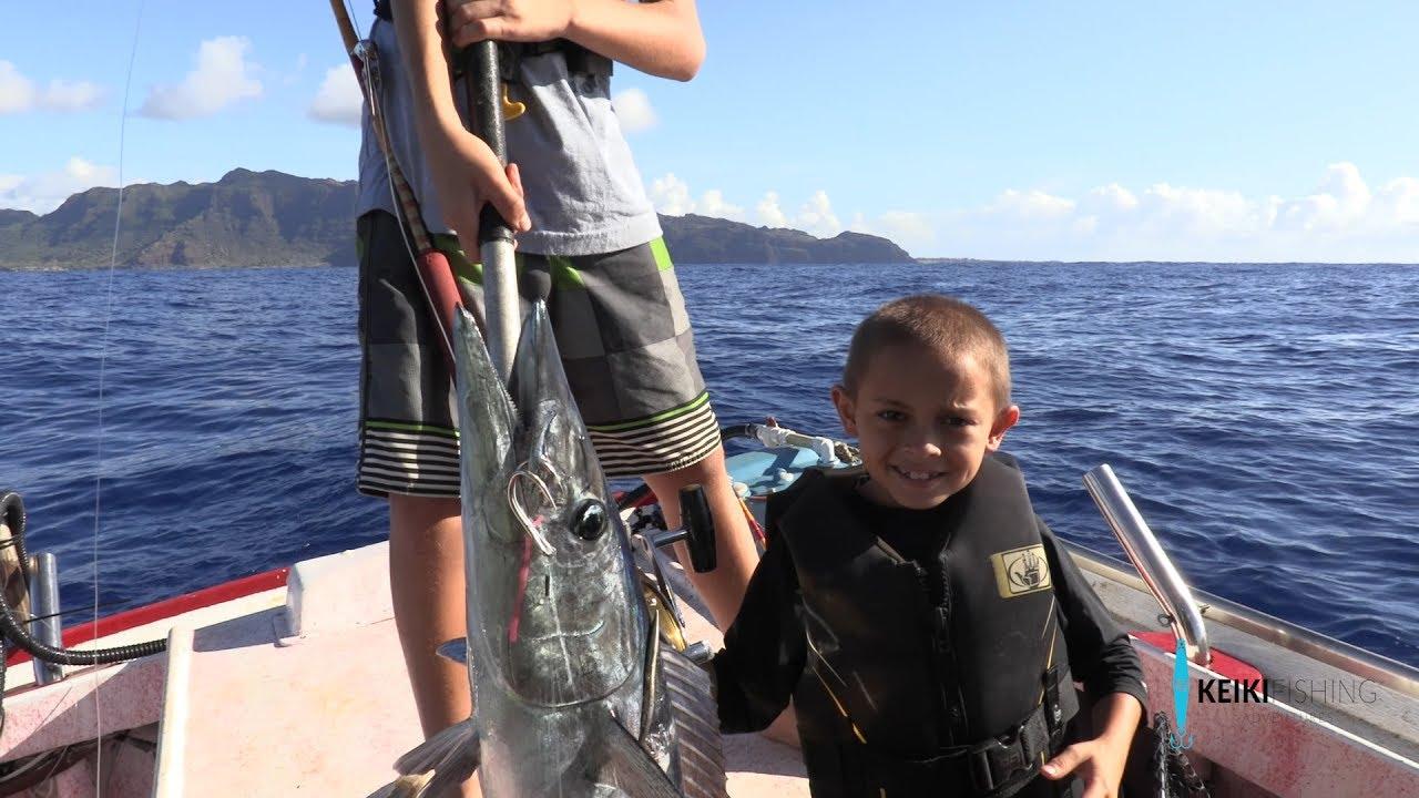 Do you fish in rough seas?