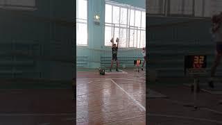 Гиревой спорт.Антон Гордеев Толчок 32кг: 56 (выполнение КМС)