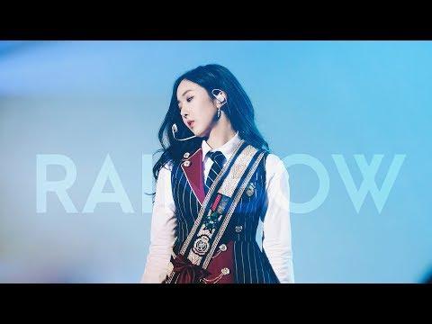 [4K] 180107 여자친구(GFRIEND) 신비(SinB) -  레인보우(RAINBOW) @ 여자친구 콘서트 직캠(Fancam) by afterglow