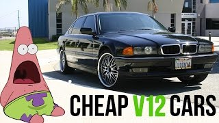 The 6 Cheapest Ways To Own A V12 Car