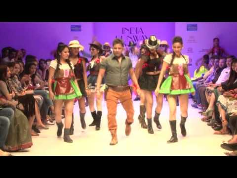 Sukhwinder Singh amazing performance in Fashion show