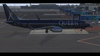A Kind of Magic- Tribute to Queen Special Liverie B787-MaxXPLANE 11--Geneva- Madrid