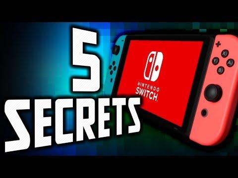 5 SECRETS SUR LA NINTENDO SWITCH