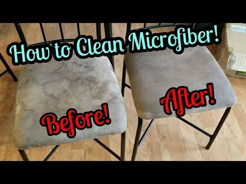 How To Clean Microfiber Furniture! || TheStoweFam