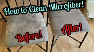 How To Clean Microfiber Furniture! || TheStoweFam